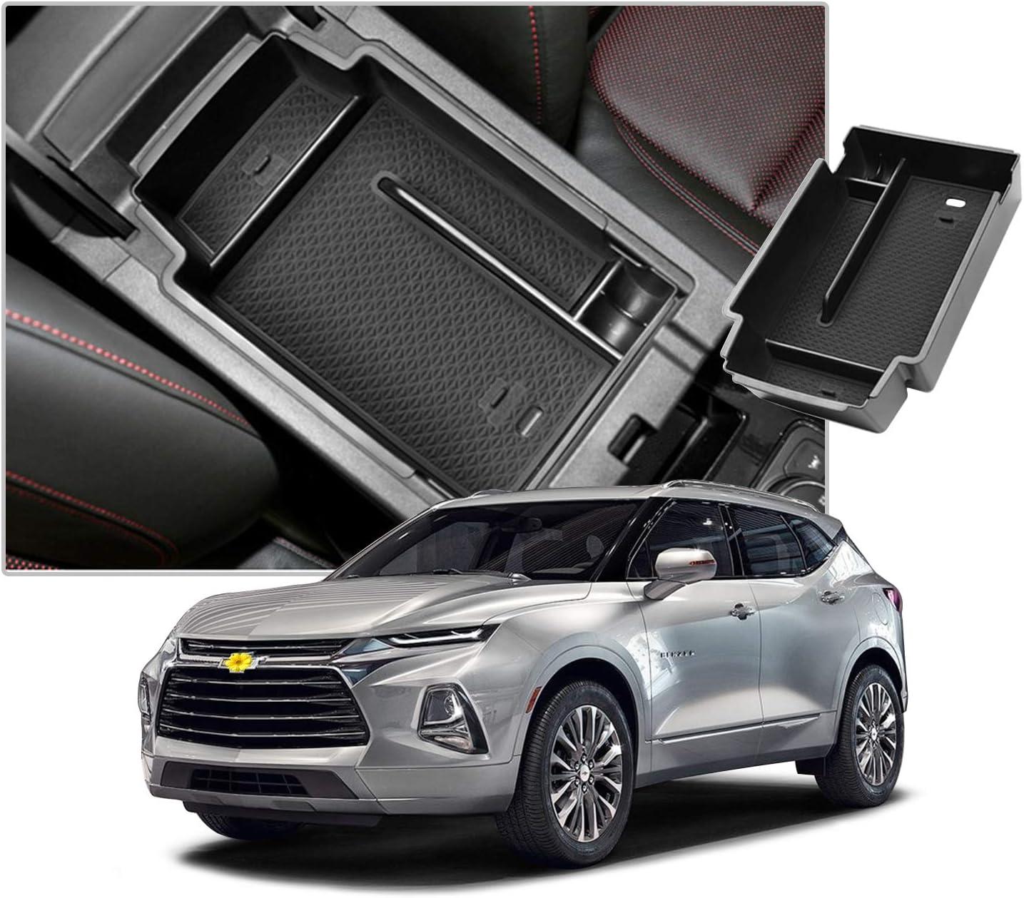 CDEFG Center Console Accessory Organizer for 2018 2019 2020 Tiguan ABS Material Armrest Box Insert Tray