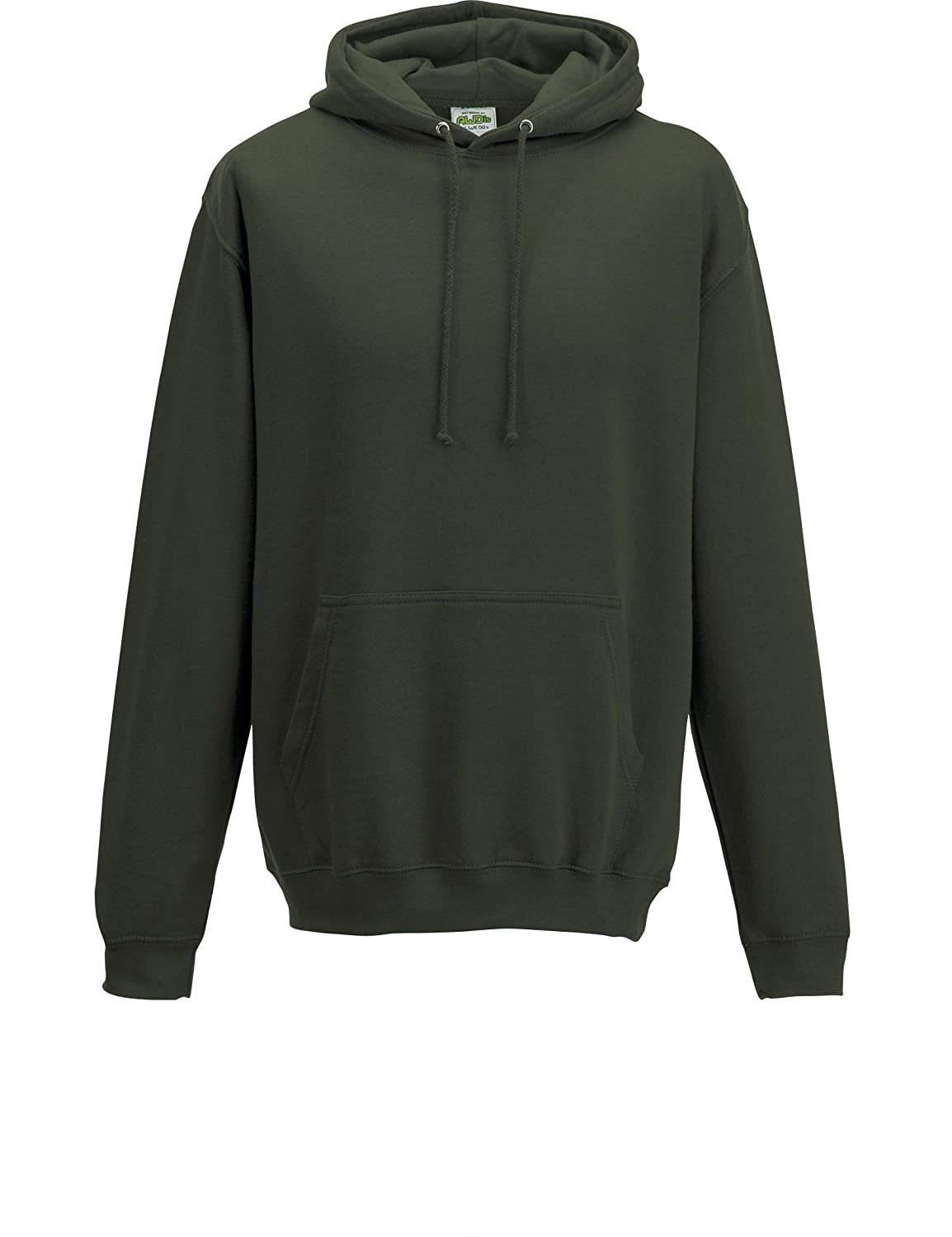 Olive Green XL 46 Different Colours Available AWDis Hoods Pullover College Hoodie