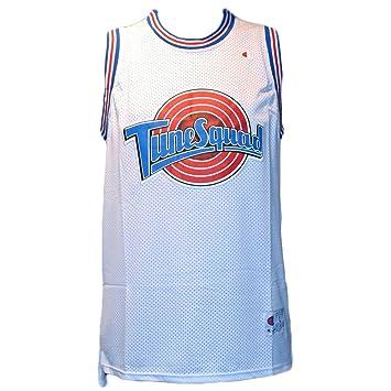 Camiseta de baloncesto de la NBA - Michael Jordan Tune Squad Space Jam - Talla L: Amazon.es: Coche y moto