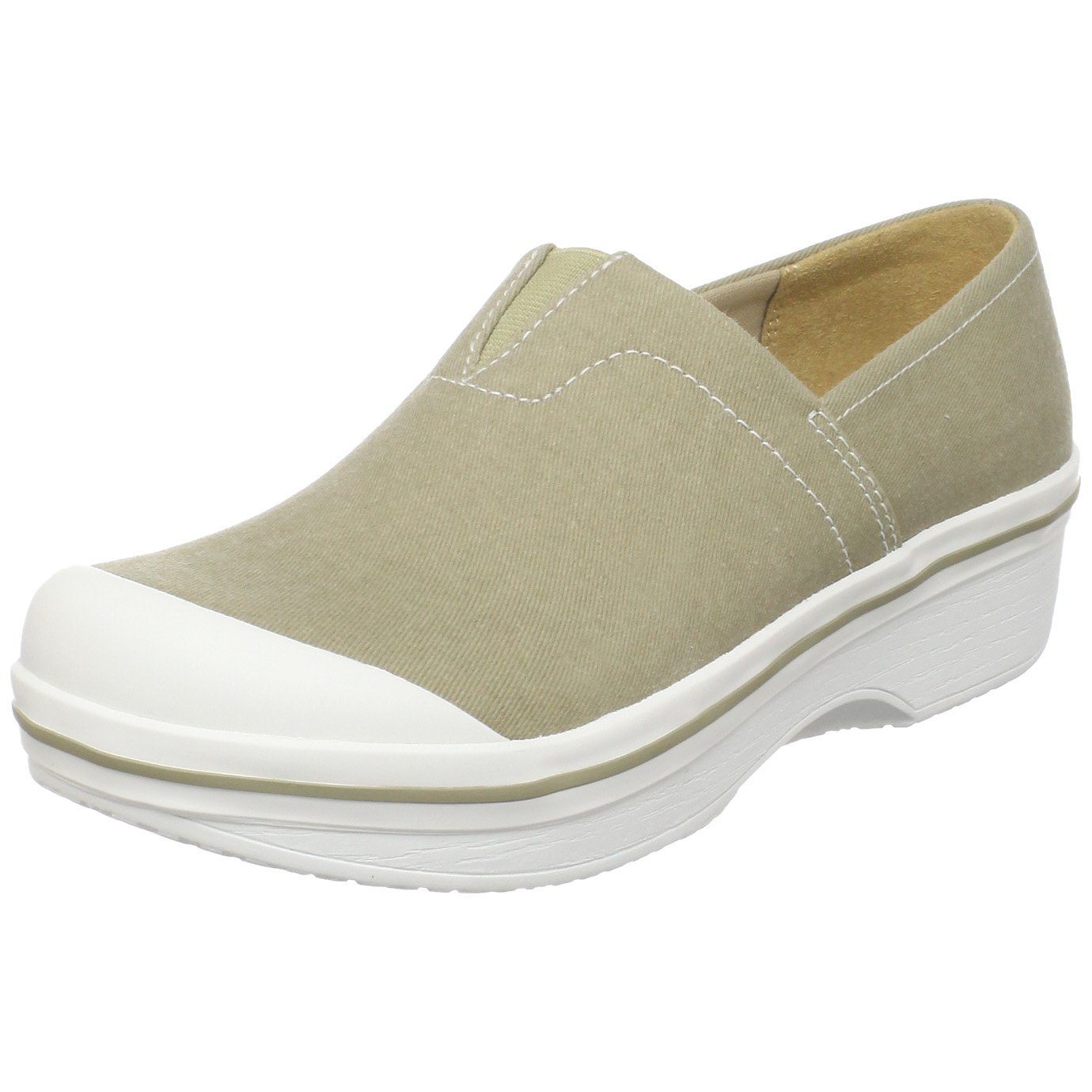 Dansko Vesta Canvas Clog (Toddler/Little Kid/Big Kid) Sand 27 M EU (9.5-10 M US Toddler)
