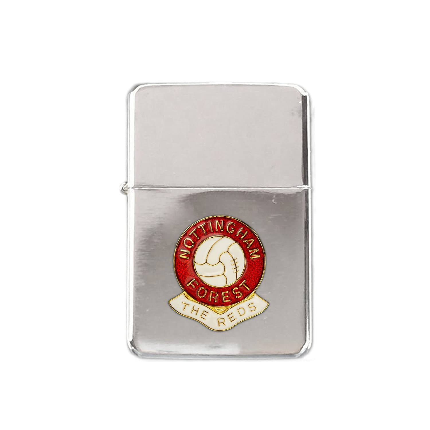 Nottingham Forest football club stormproof petrol lighter Knight