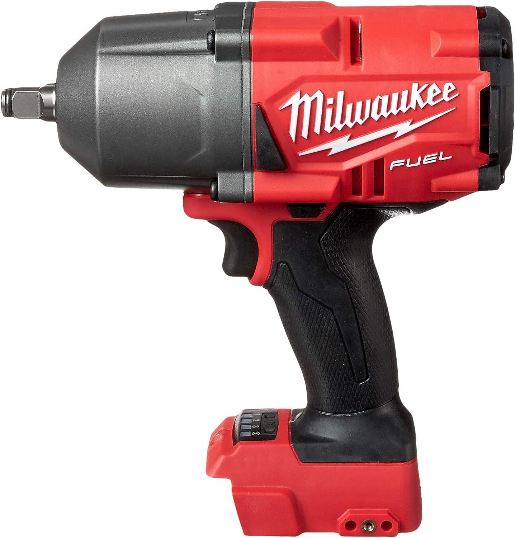 Milwaukee Impact Wrench Cordless 18V Brushless 1//2 Inch Friction Ring Kit 9 Pc