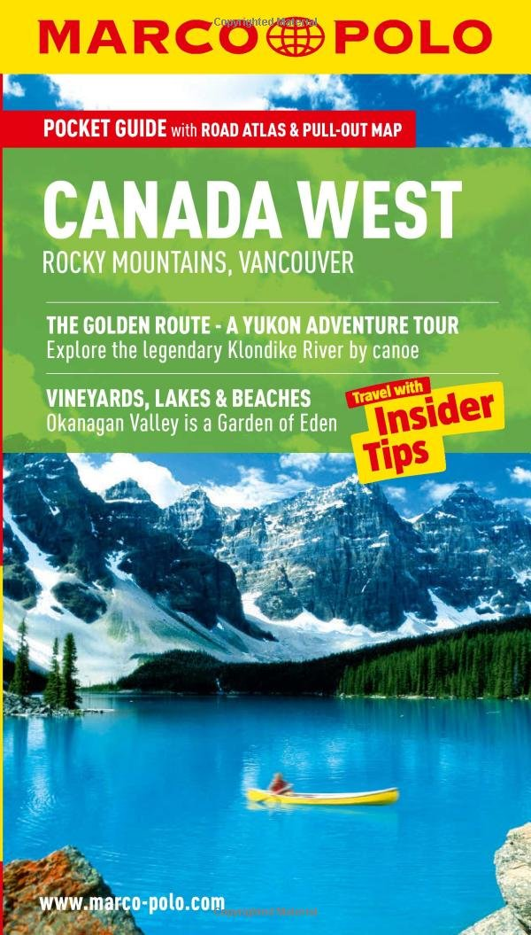 Canada West (Rocky Mountains & Vancouver) Marco Polo Pocket Guide (Marco Polo Canada West (Travel Guide))