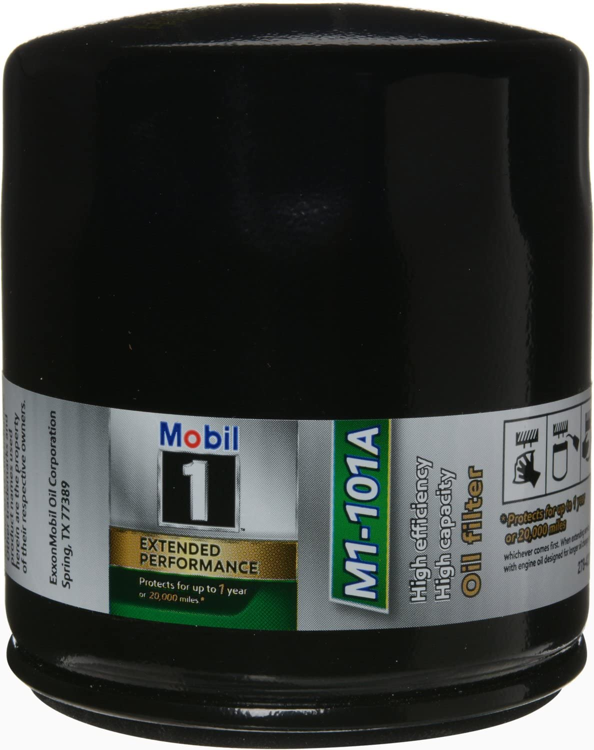 Mobil 1 M1-101A Extended Performance Oil Filter, 1 Pack