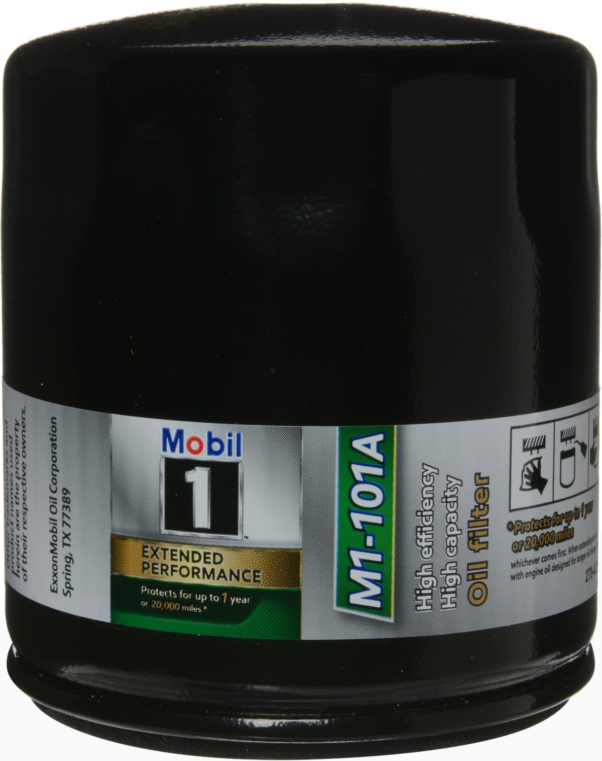 Mobil 1 M1-101A Extended Performance Oil Filter, Pack of 2