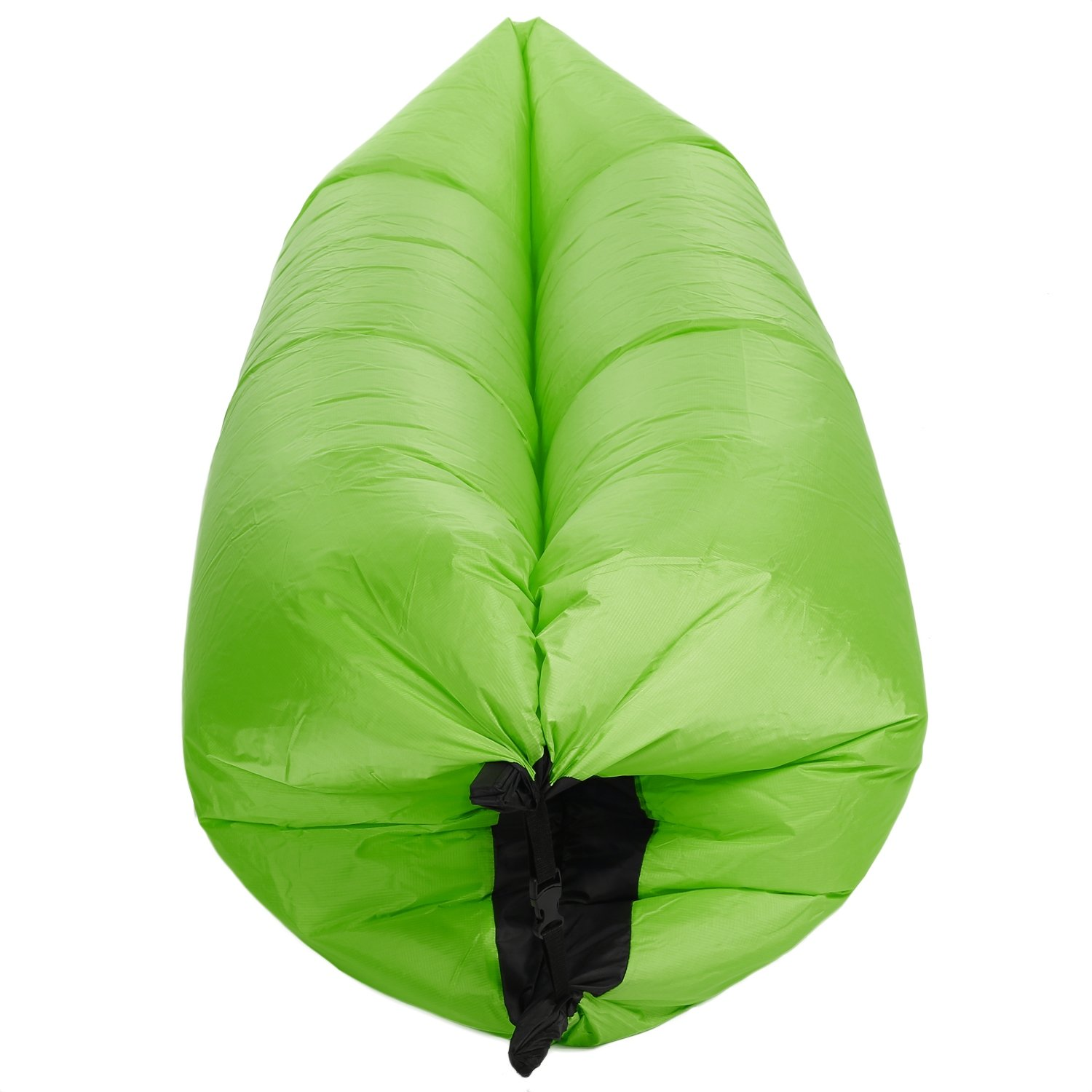 Fashine Outdoor Portable Lazy Inflatable Couch Air Sleeping Sofa Lounger Bag Multifunctional Camping Bed For 4 Season Park, Camping, Hiking, Beach, Backyard (US Stock) (green)