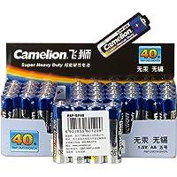 Camelion 飞狮 AA/5号 超能碳性 电池 40节/收缩盒装 适用于儿童玩具//收音机/闹钟等