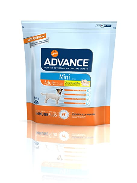 Advance Mini Adult Chicken &Rice 800 gr: Amazon.es: Productos para mascotas