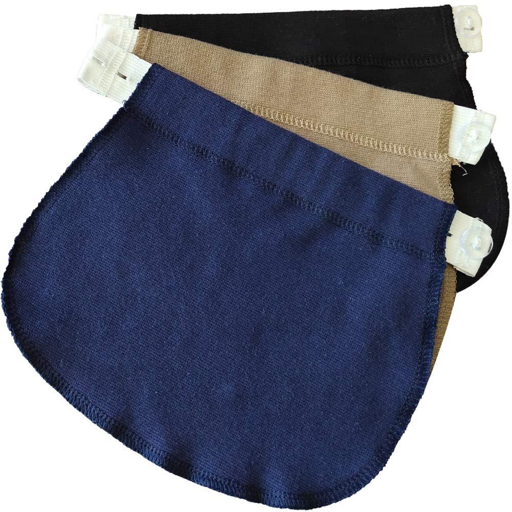Yi Zhou Cinghie di maternit/à con Cintura Elastica per Pantaloni e gonne gravide 3 Grembiuli