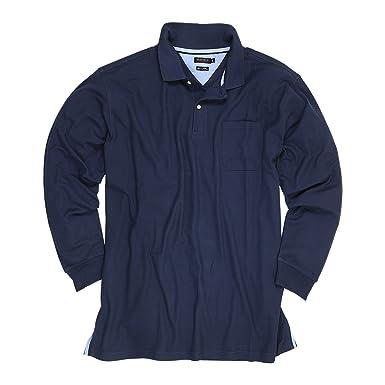 Azul oscuro Camisa Polo de piqué (manga larga) de Redfield en ...