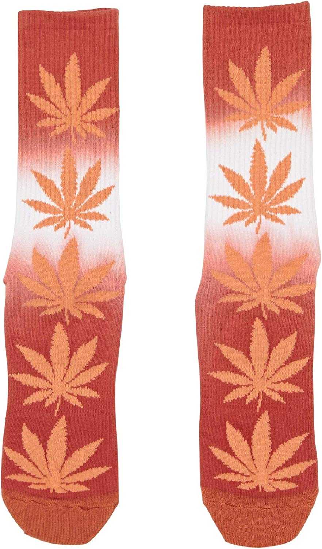 Huf Plantlife Gradient Dye Socks Aurora Yellow
