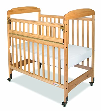 Foundations Serenity Safereach Compact Crib, Clearview, Natural, 0-36 Months