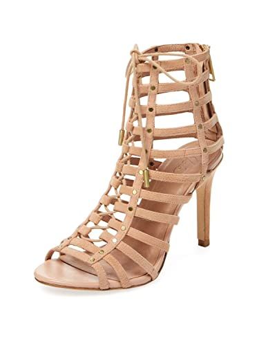 cead850cc95f Amazon.com  Joie Rhoda Caged Lace Up High Heel Sandals  Shoes