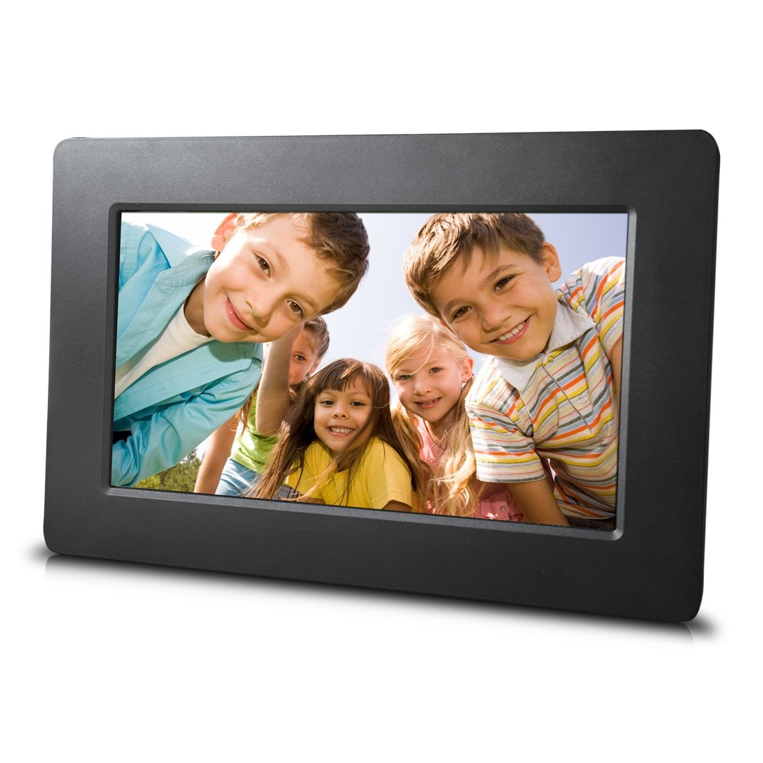 Sungale DPF710 7' Digital Photo Frame with Ultra Slim Design, Black SCTP Inc.