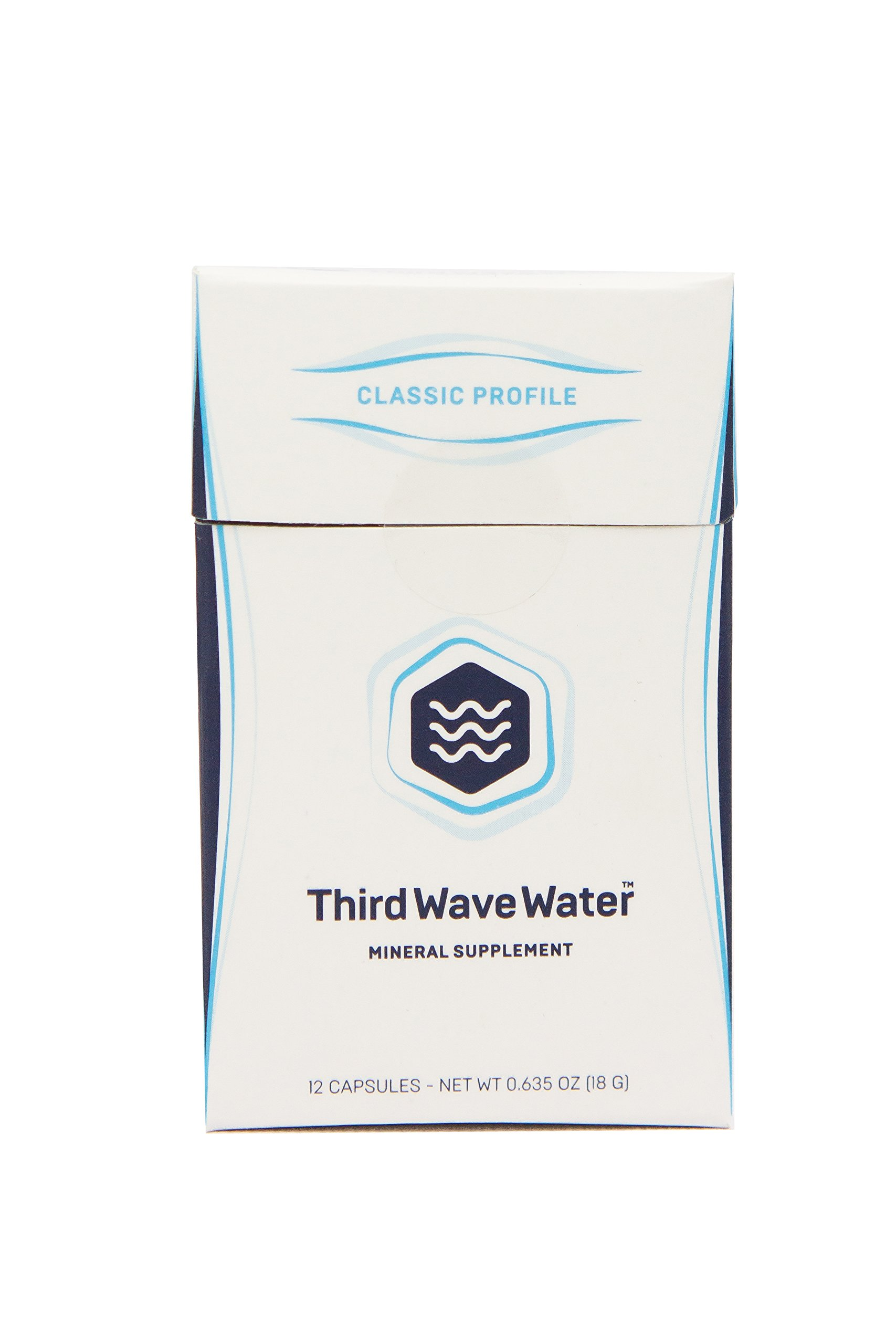 Third Wave Water Mineral Enhanced Flavor Optimizing Coffee Brewing Water, Classic Flavor Profile,  0.635oz