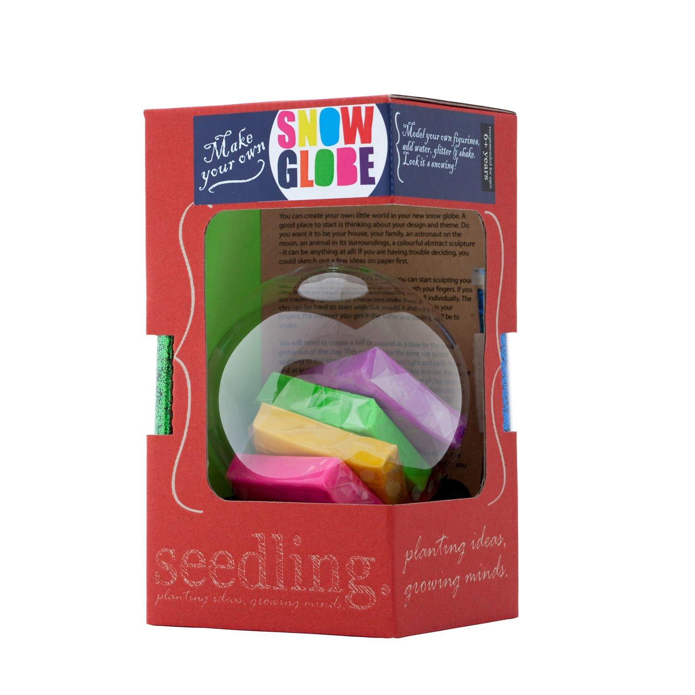 amazon com seedling make your own snow globe toys games