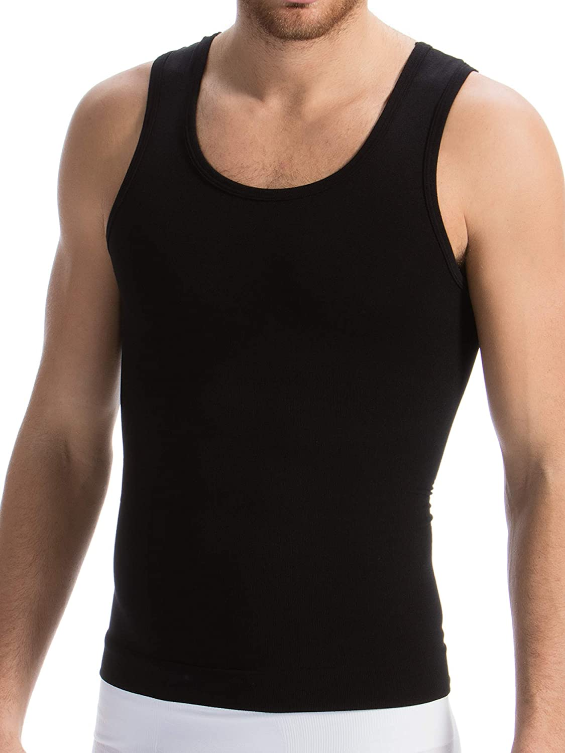 Farmacell Man 417B Men/'s Body Shaping Vest with Light and Refreshing Breeze Yarn