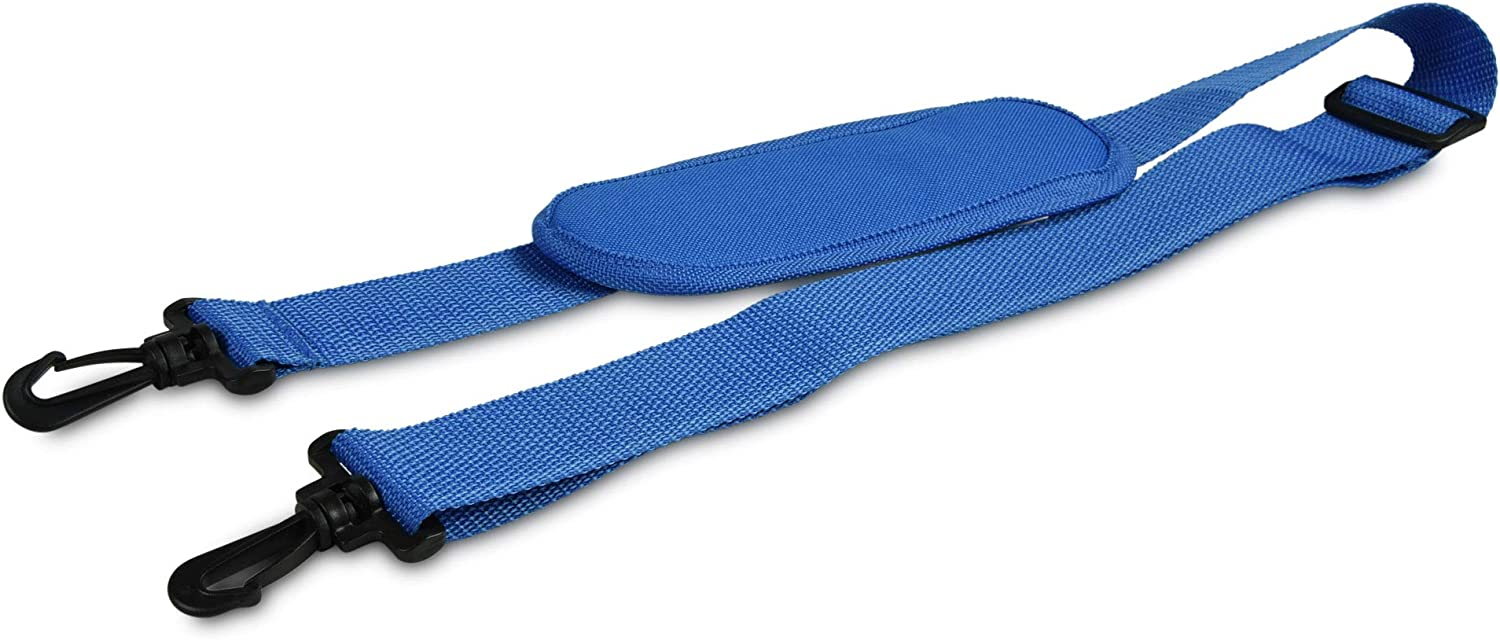 DALIX Premium Replacement Strap with Shoulder Pad for Laptop Travel Duffle Bags