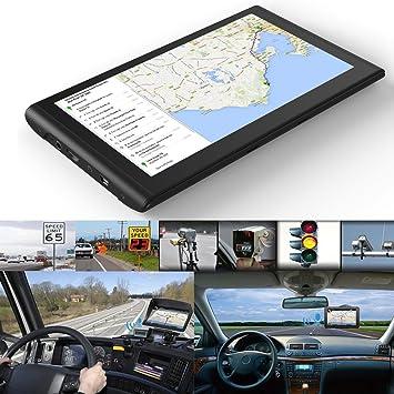 Q8 7-pulgadas 8 GB ROM + 128M RAM pantalla táctil capacitiva GPS Navigator para