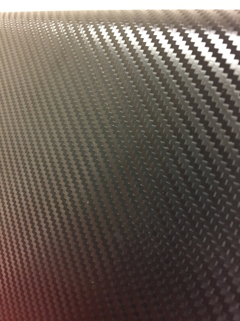Premium Black Carbon Fiber Vinyl Wrap Film 3ft x 5ft VViViD