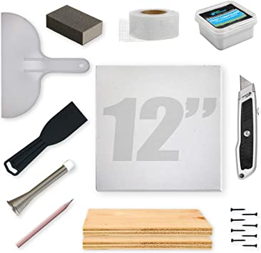 Stella Drywall Repair Kit Pro 12 X12 X1 2 Amazon Com