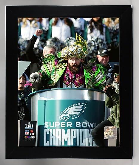 240a2de342349c Framed Philadelphia Eagles Jason Kelce Super Bowl 52 Champion 8x10 Photo,  Picture