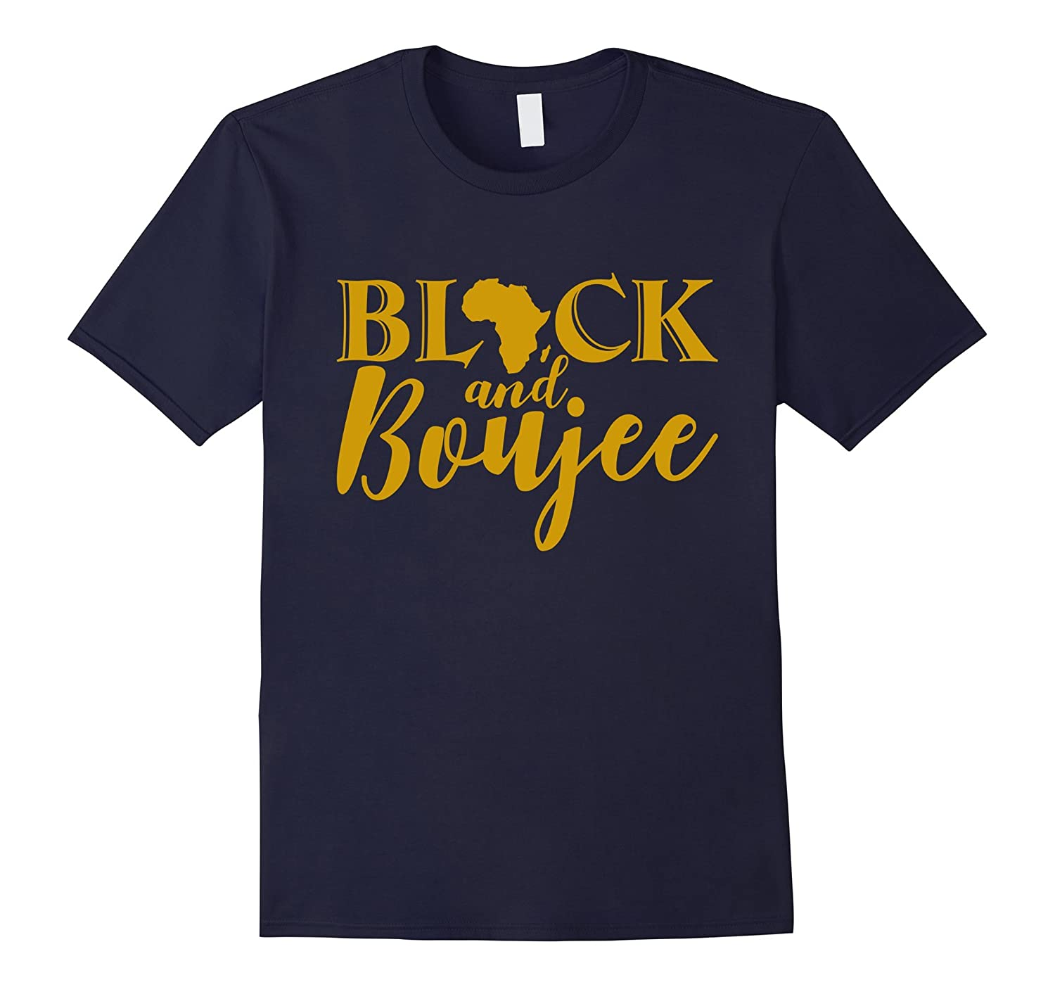 Black And Boujee Shirt-TD