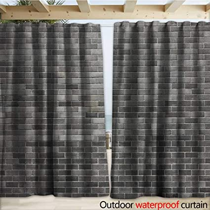 Amazon.com: Cortina de pared para patio o patio con diseño ...