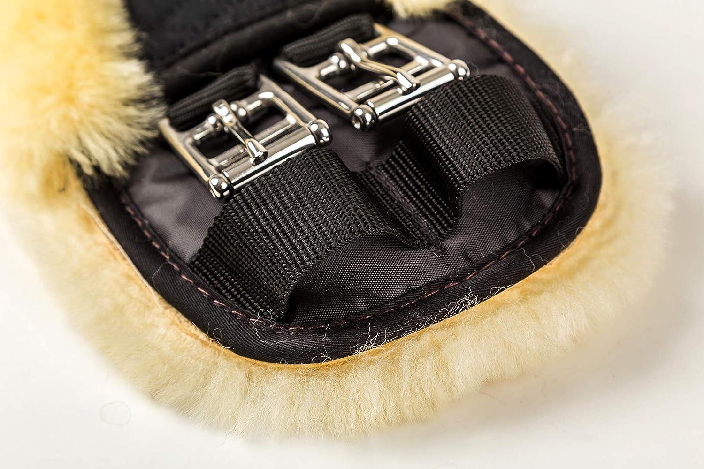 Merauno Sheepskin Dressage Girth Western Moon Girth Dressage-60cm