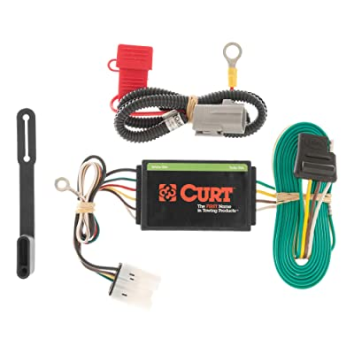 CURT 56102 Vehicle-Side Custom 4-Pin Trailer Wiring Harness for Select Mitsubishi Outlander: Automotive