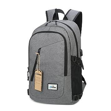 24af9c4dea76f Laptop Rucksack mit USB Ladeanschluss