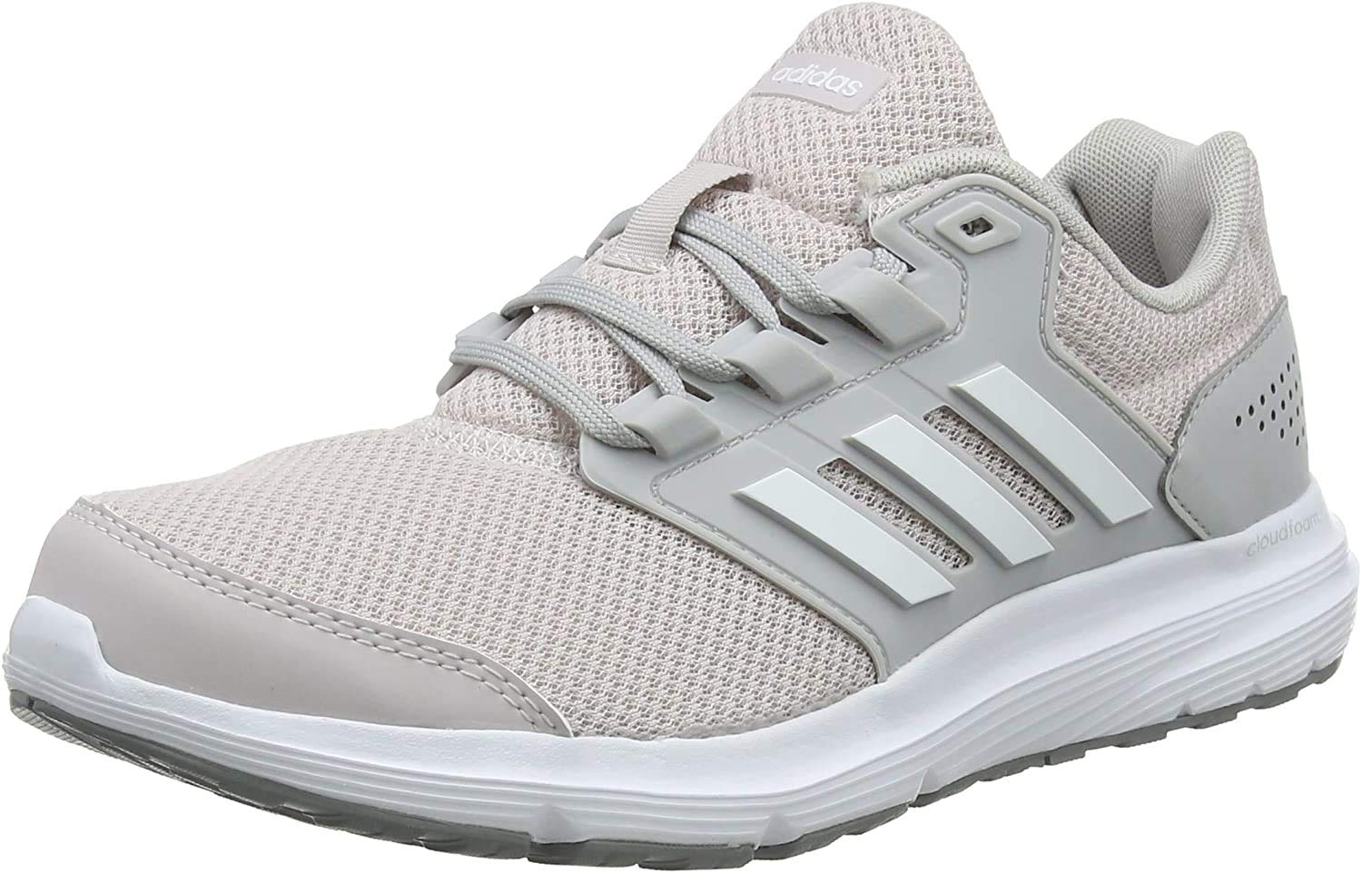 adidas Galaxy 4, Zapatillas de Running para Mujer, Gris (Grey/Footwear White/Ice Purple 0), 45 1/3 EU: Amazon.es: Zapatos y complementos