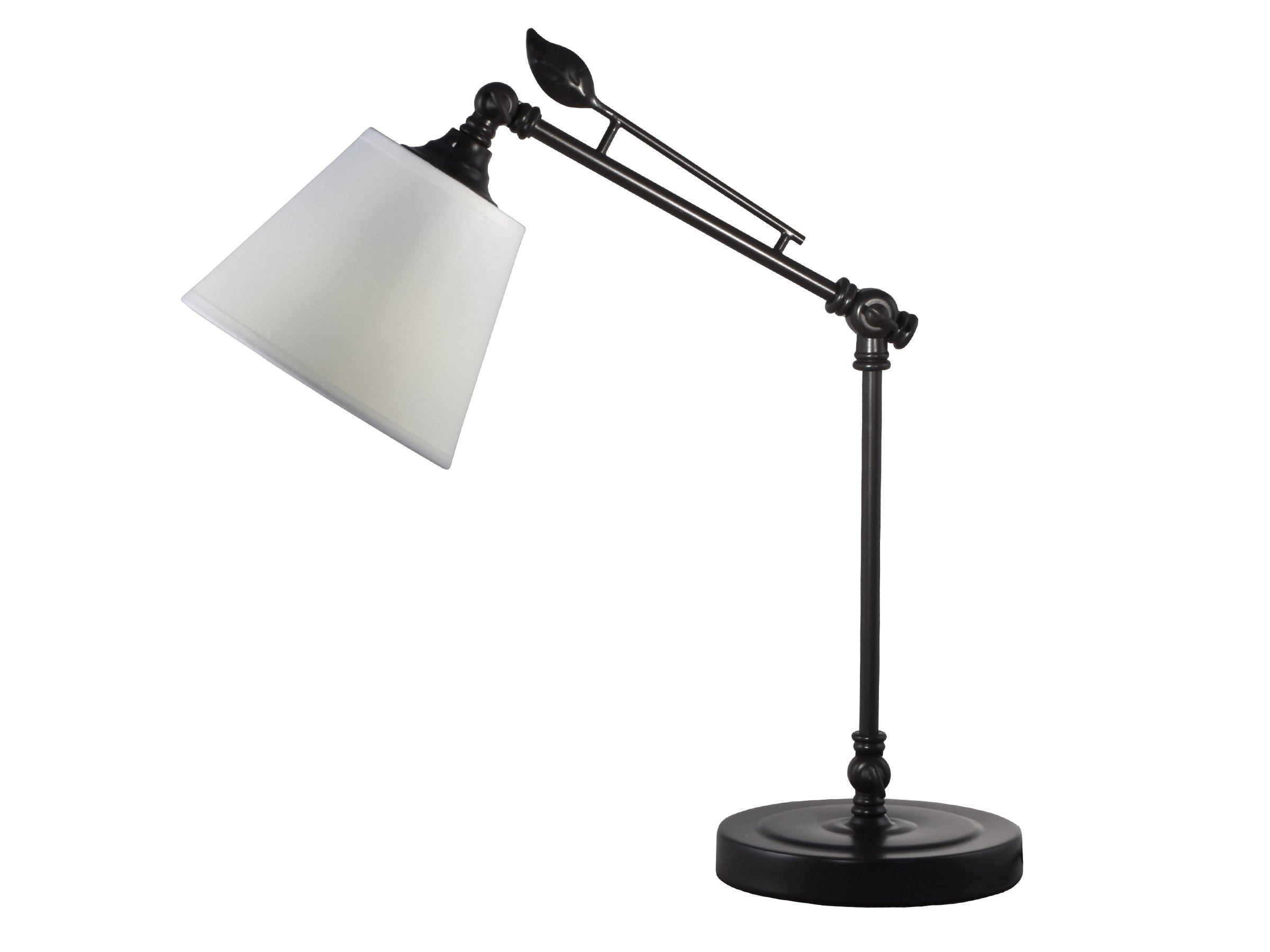 Springdale SPT16044 Urban Directional Desk Lamp, Dark Bronze
