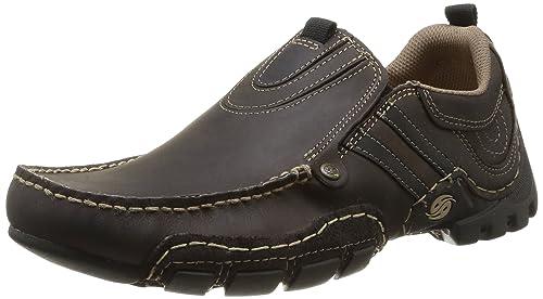 Dockers by Gerli 20AY005-400361, Mocasines para Hombre, marrón-Braun (Schoko/Schwarz 361), 42 EU: Amazon.es: Zapatos y complementos