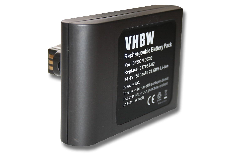vhbw Batería Li-Ion 1500mAh (14.4V) para robot aspiradora, Home ...