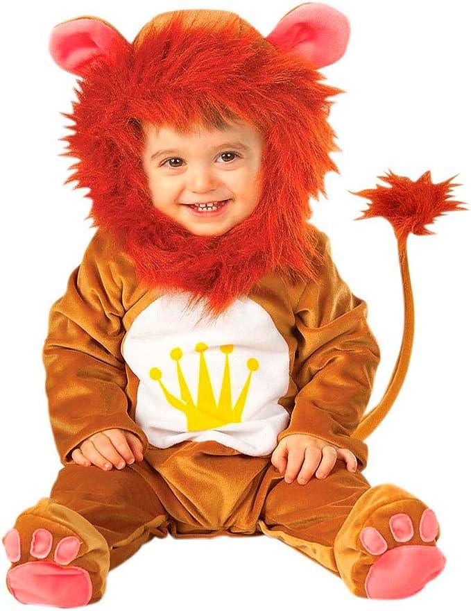 Disfraz de león para bebé disfraz de León marrón 90 cm ...