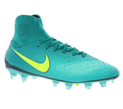 best sneakers add80 1b260 Nike 843812-375, Chaussures de Football Homme, Bleu (Rio Teal/Volt ...