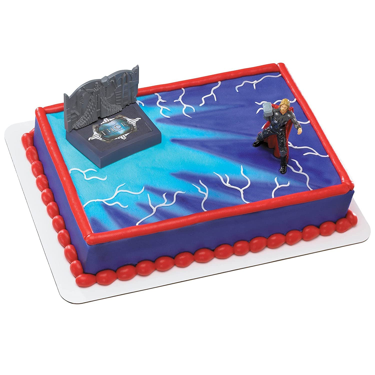 Amazon Thor Hammer Time Cake Topper Party Accessory Toys Games
