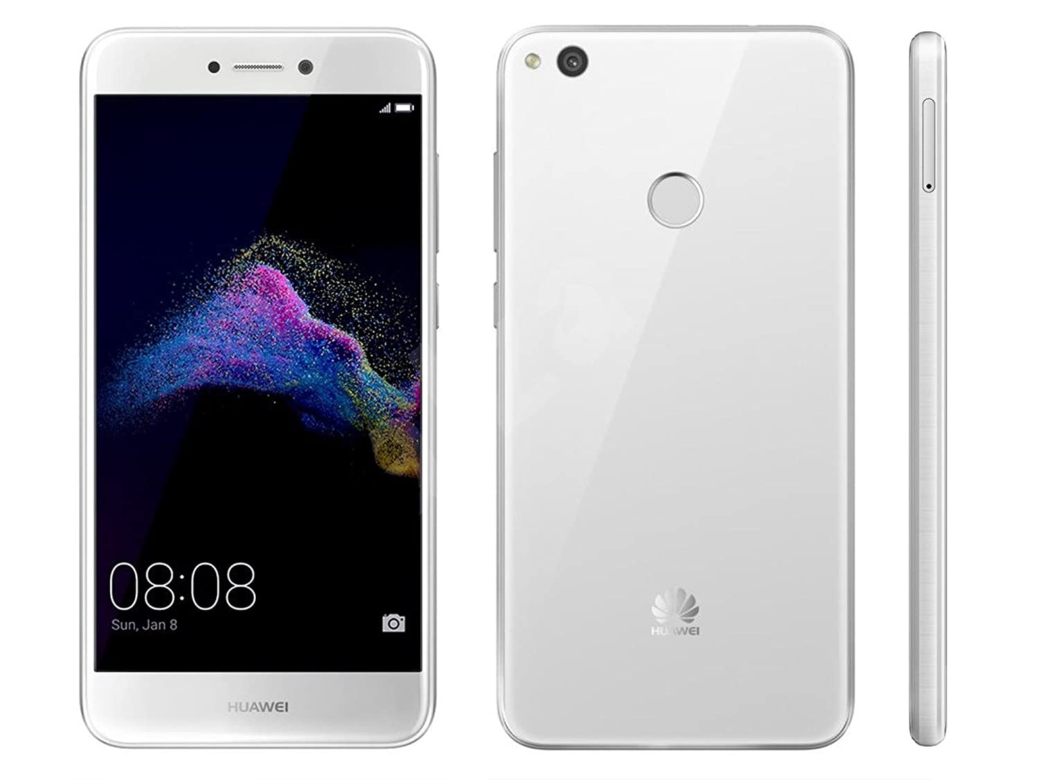 Huawei P9 Lite (2017) 4G 16GB Dual-SIM White EU: Amazon.es ...