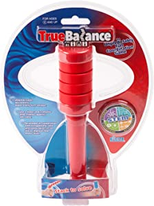 TrueBalance Coordination Game Balance Toy for Adults and Kids | Improves Fine Motor Skills (Mini Red)