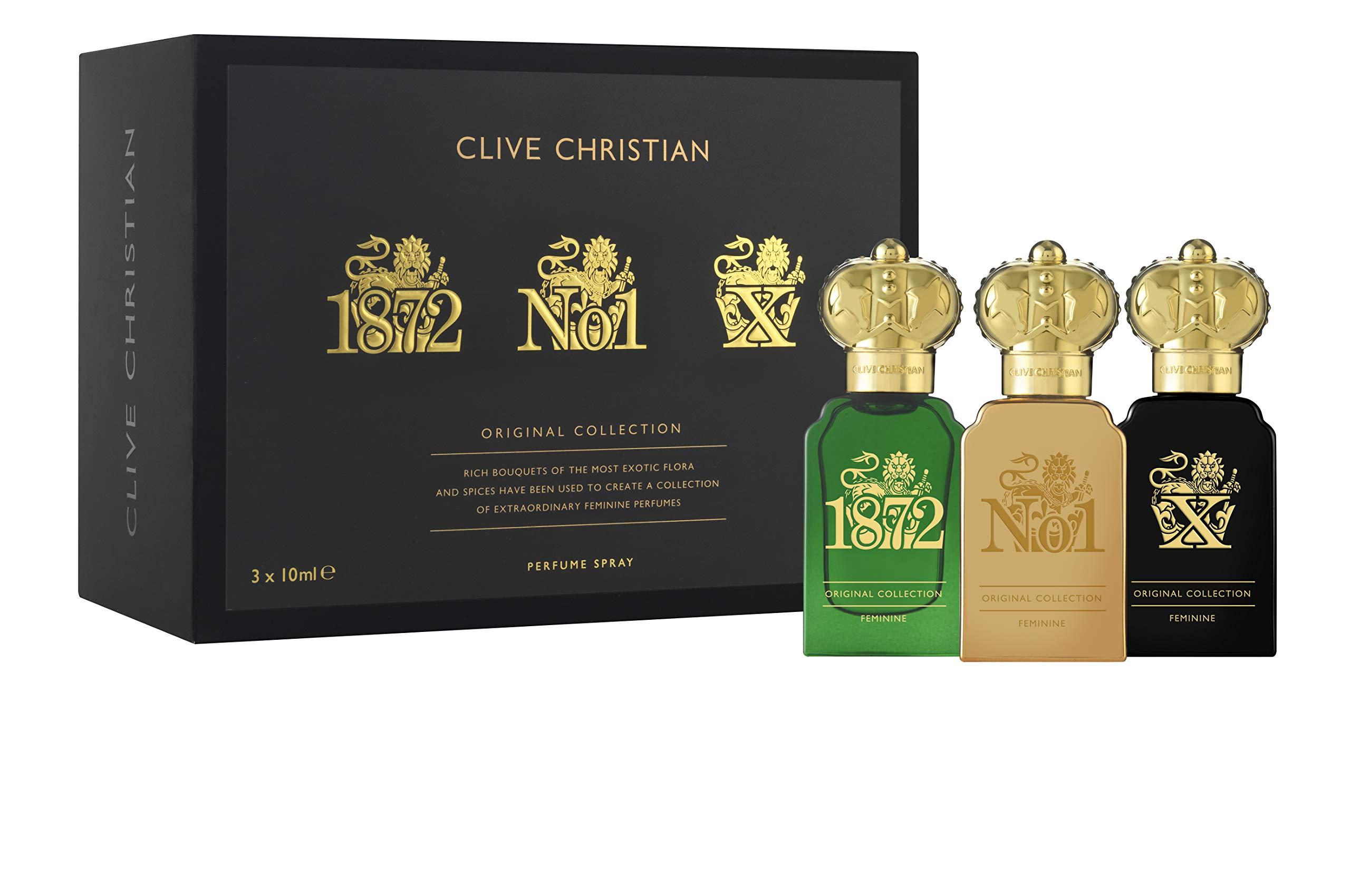 Clive Christian Perfume Traveler Set Masculine Collection for Men 3 x 10 ml