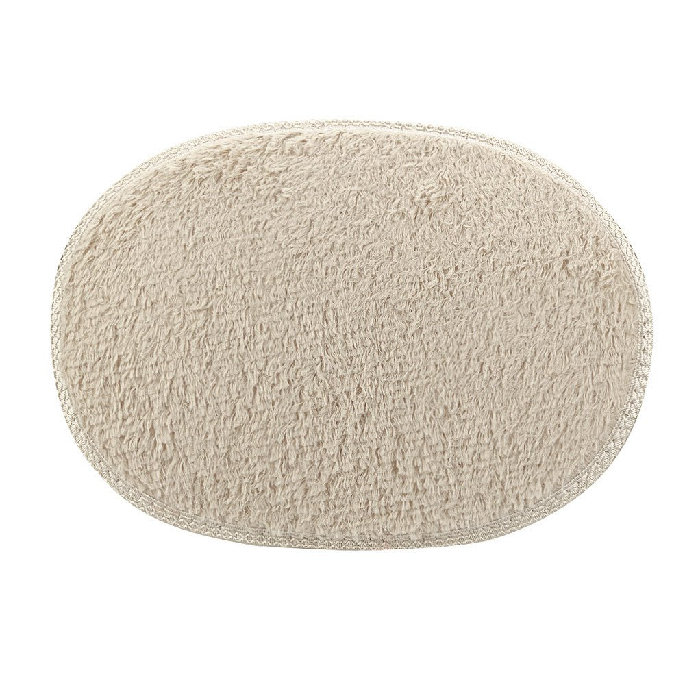 Weiliru Anti-Skid Fluffy Shaggy Area Rug Home Bedroom Bathroom Floor Door Mat,Door Rug Water Absorpted