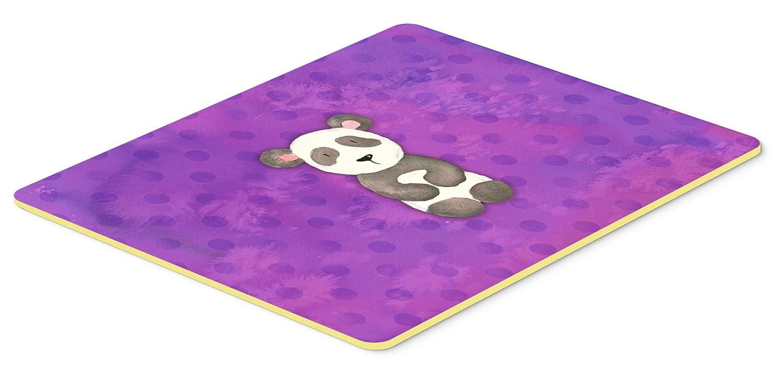 Carolines Treasures BB7375JCMT Polkadot Panda Bear Watercolor Kitchen Mat 24H x 36W Multicolor