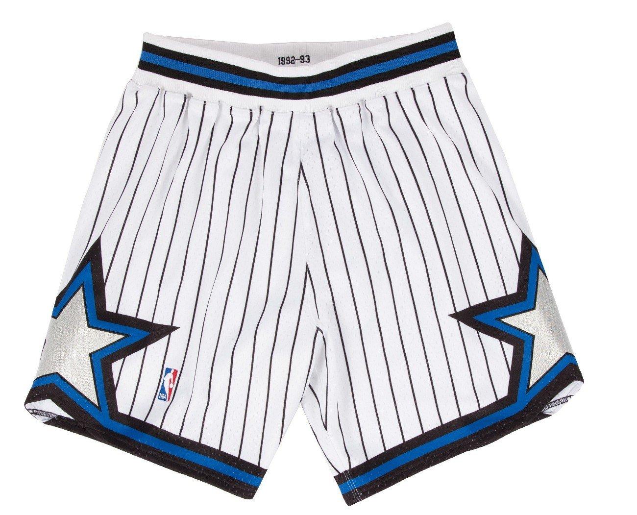 Mitchell and Ness 92-93 Orlando Magic Mens Shorts in White