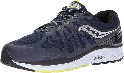 Saucony Men/'s Echelon 6 Running Shoe Navy//Citron 9 D US