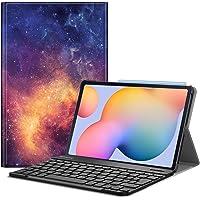"""FINTIE Funda con Teclado Español Ñ para Samsung Galaxy Tab S6 Lite 10.4"""" 2020 (SM-P610/P615) - Carcasa con [Bolsillo…"""