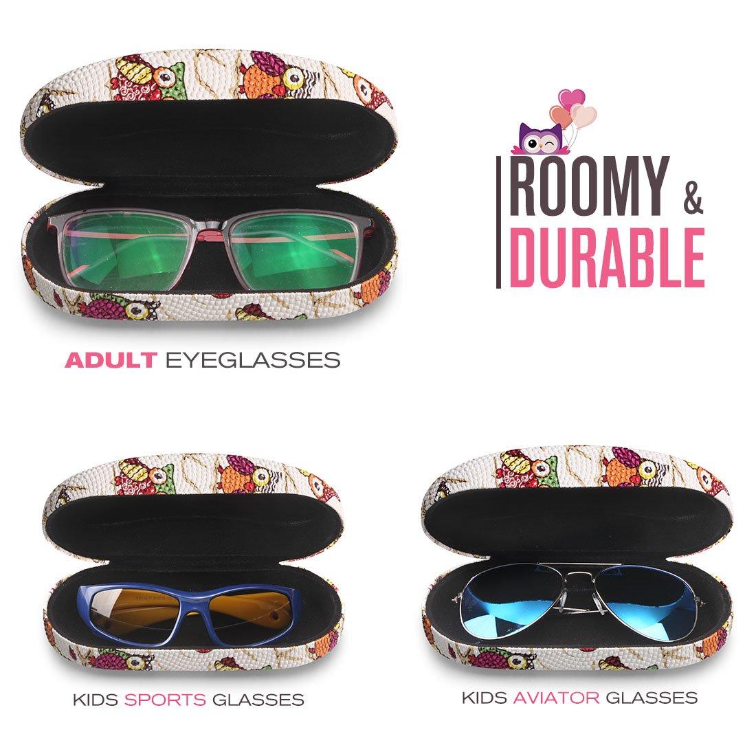 Amazon.com: Funda rígida para gafas para niños y mujeres ...