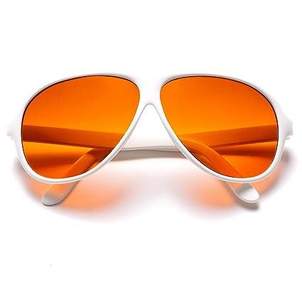 4bea26d99a7 Official BluBlocker White Aviator Sunglasses  Home  Amazon.com.au