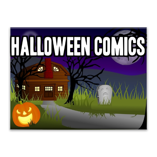 Halloween Scary Stories as Video Comics: With Background Music for a Halloween Party for $<!--$0.00-->