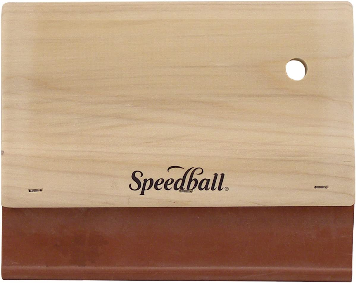 Speedball 6-Inch Fabric Squeegee for Screen Printing